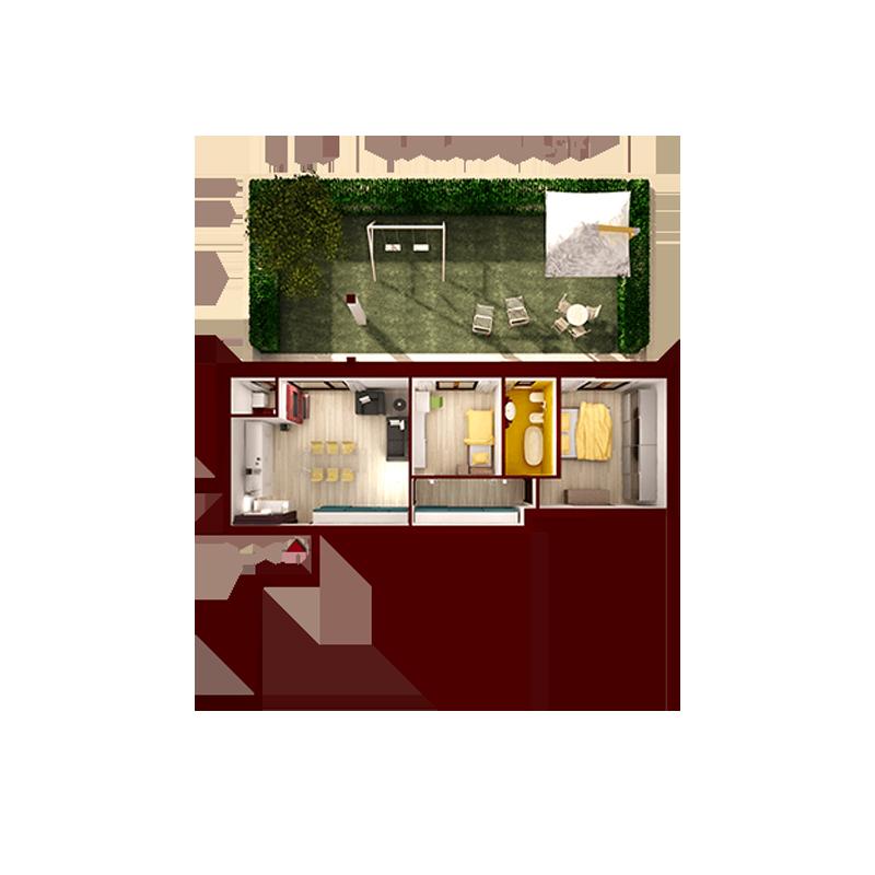 Appartamento Tipo 1 U2013 70 Mq